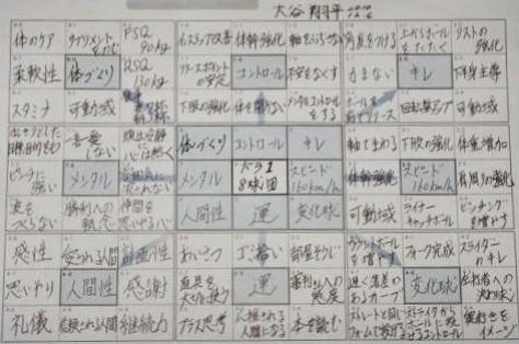 大谷翔平の凄さ3要素!名言やマンダラチャートからの人間力!