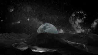ブラックムーンとは?月の特徴や意味を調査!エネルギーが凄い!