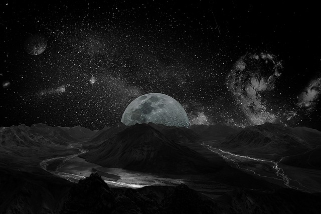 ブラックムーンって?月の特徴や意味を調査!エネルギーが凄い!