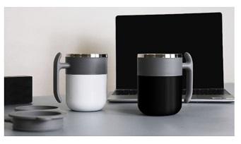 「AUMIX」自動でかき混ぜるマグカップの仕組みがスゴイ!