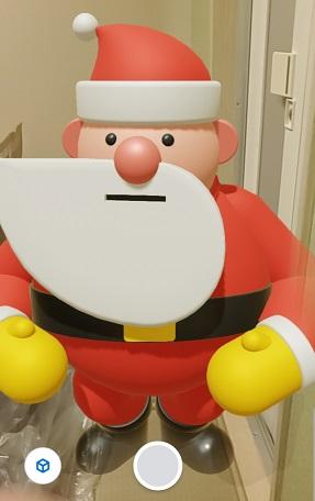 グーグル検索で「サンタを追いかけよう」!?3Dサンタも出現!