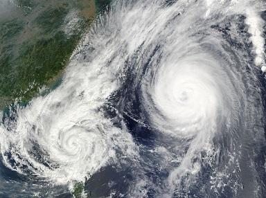 台風のネーミングの決まり方は?日本は星座名って知ってた?